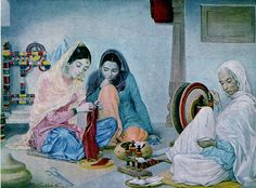 painting by S Sobha Singh Ji