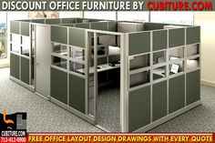 CUBITURE.COM Is The Leading Manufacturer Of New, Used & Discount Office Cubicles & Workstations. FOR A FREE QUOTE 713-412-0900 & USA FREE SHIPPING!
