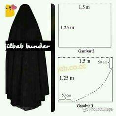 Jilbab bundar