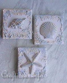 Plaster castings