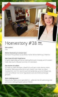 Heute ist es endlich wieder soweit! Teil drei unseres Homestory.de-Gewinnspiels: Als Dritte der Top 5-Teilnehmer zeigt uns Lisa ihre geschmackvolle und ziemlich coole Wohnung in Weimar im Retro-Look. Wollt ihr sie als Gewinnerin nach Meran schicken? Dann her mit ganz vielen Likes, Pins oder Herzchen! #Homestory #home #living #interior #Retro #Vintage #Art #DIY