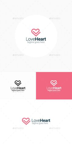 Love Heart Logo by theLogoVibe The ZIP Archive ContainsLogo Template Readme file with Font linkItem DetailsCMYK 100 Vector Fully Editable Font Used: Roboto Logo Design Template, Logo Templates, Love Heart Symbol, Web Design, Icon Design, Graphic Design, Logos Ideas, Logo Simple, Was Ist Pinterest
