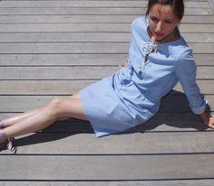 Ma belle Eole @dessinemoiunpatron en version ceinture sous passants avec le très beau tissu chambray plumetis @amandinechadessolier de chez @36_bobines est terminée 💪💪💪💕💕💕 j'ai remplacé le ruban par une cordelette et là on ne voit pas mais mes petites broderies sont du coup mises en valeur #dessinemoiunpatron #robeeole #tissuaddict #broderieaddict #patroncouture #nouveaupatron #nouvellecollection #saharienne #robechemise #36bobines #chambray