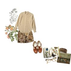 """i would love to go back to the old garden"" by goldenjulia on Polyvore"