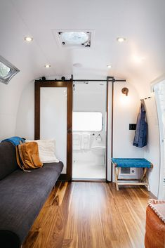 Autocamp takes glamping to a whole new level, it offers guests a chance to stay in one of their many custom Airstream trailers, or in a luxurious canvas tent with plush, modern interiors. Recently opened, the new campsite is located in a native Redwo