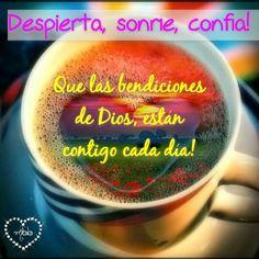 La bendición de Dios esta contigo cada día!