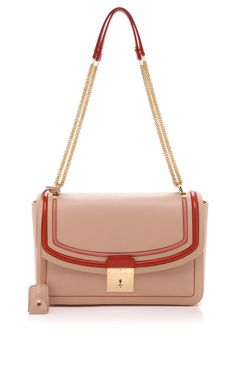 The 1984 Tricolor Polly Handbag In Blush by Marc Jacobs - Moda Operandi