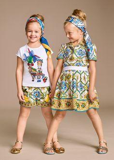 3c3652df596f Dolce  amp  Gabbana Children Girl Collection Summer 2016