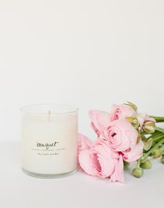 Fair Trade Bouquet Scented Soy Candle