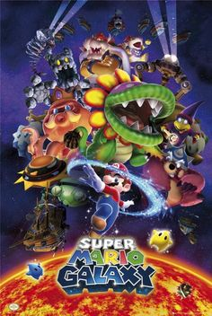 Super Mario Galaxy all bosses
