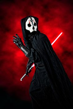 Darth Nihulus, cosplayed by John B, photographed by Bill Hicks