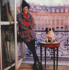 Wallis Franken as the Duchess or Windsor at the Windsor Ritz, c.1993
