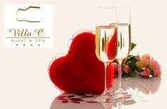 Venha passar o São Valentim na Villa C Hotel e SPA num espaço de luz e transparência que se abre sobre a cidade de Vila do Conde | Escapadelas | #Portugal #VIlaDoConde #Valentim