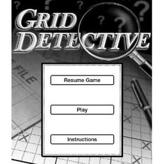 Test your deduction skills as you try to solve 30 puzzles of varying difficulty. Each Grid Detective Case File starts with a brief story that describes your objective. Based on the information in the story and 6 clues, your job is to figure out which of the dozens of possible outcomes is the correct one. Using the process of elimination and deductive reasoning, you'll deduce the correct relationship between items. For example: if A=B and AC, then BC. If you can find the unique solution th...