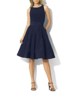 Lauren Ralph Lauren Dress - Jersey & Taffeta | Bloomingdale's.  Bought as an option for brother Scott's wedding.