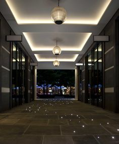 Ham Yard Hotel lighting by Lighting Design International
