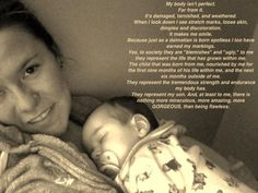 theshapeofamother.com    I would only add as a personal note, that my body nourished my son for 14 months outside of the womb...6 months exclusively, following 8 months supplementary to introduced foods. And heck yes I'm proud of that. I would love to have continued, but the boy was done. Despite being sad it ended when it did, I'm glad that he chose it, and wasn't forced to wean.