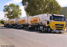 4 trailers Truck Freight that is carrying a petrol from Darwin to Alice Springs
