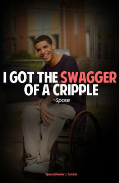When Drake was Jimmy Brooks on Degrassi. (: