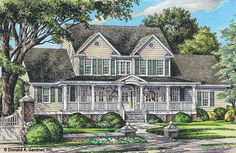 Home Plan The Southerland by Donald A. Gardner Architects