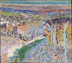 Landscape in the South (Le Cannet) by Pierre Bonnard, 1943