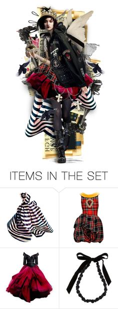 """""""Punk Princess"""" by mew-muse ❤ liked on Polyvore featuring art"""