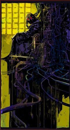 Cyberpunk Games, Arte Cyberpunk, Cyberpunk 2077, Tarot Cards Major Arcana, The Hanged Man, The Hierophant, Video X, Ghost In The Shell, Science Fiction Art
