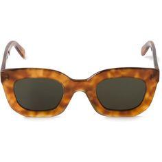Céline Marta Sunglasses (€240) ❤ liked on Polyvore featuring accessories, eyewear, sunglasses, glasses, celine sunglasses, celine eyewear, nude sunglasses and celine glasses