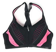 d5318ef2a5 Victoria s Secret Knockout Front Close Sports Bra at Amazon Women s  Clothing store