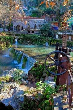 Region of Kryas in Livadia, Greece Places To Travel, Places To See, Places In Greece, Le Palais, Thessaloniki, Greece Travel, Greek Islands, Dream Vacations, Porches