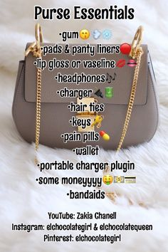 - 👛𝕡𝕦𝕣𝕤𝕖 𝕖𝕤𝕤𝕖𝕟𝕥𝕚𝕒𝕝𝕤💁🏽‍♀… 👛𝕡𝕦𝕣𝕤𝕖… - hacks for teens girl should know acne eyeliner for hair makeup skincare Life Hacks For School, Girl Life Hacks, Girls Life, Life Hacks Every Girl Should Know, School Tips, Schul Survival Kits, Survival Prepping, Survival Skills, Survival Bow