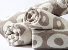 Cool Galah Circle Design Hand Towel Taupe/Egg Shell - - In Stock Hearth And Home, Bath Sheets, Egg Shells, Circle Design, Bath Towels, Taupe, Baby Shoes, Cool Stuff, Luxury