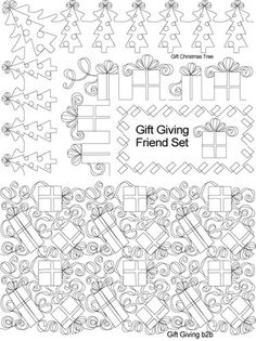 AnneBright.com - Shop | Category: Digitized Designs | Product: 08 Dec Gift Giving Deluxe Set