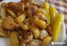 Sütőben sült gyors brassói Hungarian Recipes, Hungarian Food, Cake Cookies, Meat Recipes, Potato Salad, Bacon, Paleo, Food And Drink, Dishes