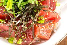 Easy Tuna Bowl (Tekkadon) 鉄火丼