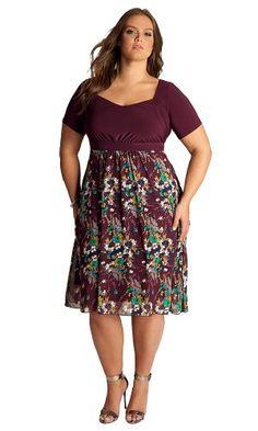 #FashionBug Plus Size Darcie Dress www.fashionbug.us