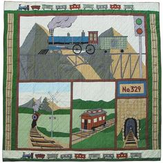 Patch Magic Train Quilt
