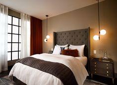 West Elm Hotel room