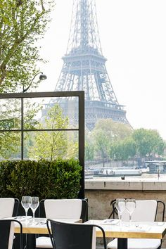 Where to Score the Most Romantic Reservations in Paris - Finding an amorous spot to grab a bite in Paris definitely isn't hard (just look to your left or right), but we have a couple of all-time favorites. From Art Deco-inspired neo-brasseries on the Seine to three-Michelin-starred dining rooms that serve regulars like George and Amal Clooney, these are the 10 most romantic restaurants in the City of Light now.