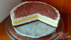 Great cream cake without baking - Kuchen - Dessert Cream Cake, Popular Recipes, Vanilla Cake, Tiramisu, Cheesecake, Lemon, Food And Drink, Baking, Ethnic Recipes