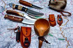 Agmine consectamur - We hunt in pack.  Porsanger Jegerbataljon, Norway. #tillvalhalla #modernvikings #armystrong #norway #knife #knifepics #knifeaddict #knifelove #kuksa #traditional #leathergoods #handmade #customsheath