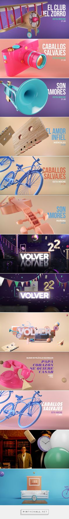 CANAL VOLVER on Behance - created via https://pinthemall.net