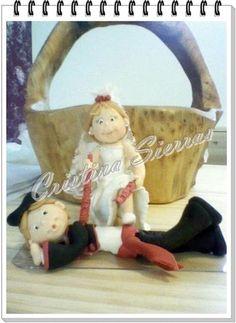 Handmade Cake Topper Bullfighter Groom  by RUSTIKOcakeDecoratio, €60.00