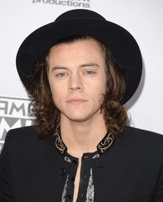 Pin for Later: Seht hier alle Stars auf dem roten Teppich bei den American Music Awards! Harry Styles