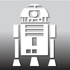 R2D2 Sticker autocollant