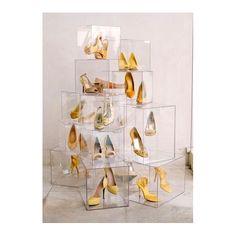 Cubi in plexiglass trasparente per negozi e e vetrine
