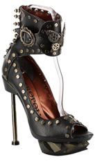 Steam Machine - Black by Metropolis Hades | Steampunk Clothes and Shoes