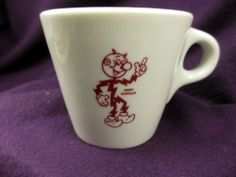 Vintage 1957 REDDY KILOWATT Syracuse China Mug * Near-Mint *