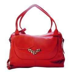 Sac bowling CADIX Rouge, €280.00 by maudterseur