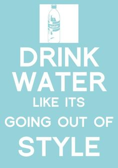I hope you're drinking your water too! #GetFitBeFit